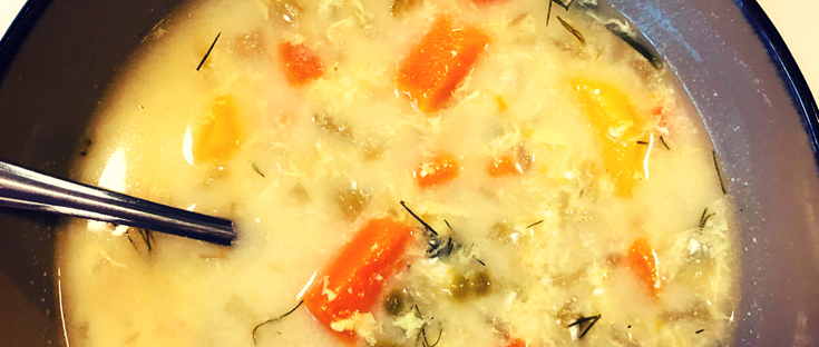Egg drop soup, low carb veggie soup, homemade soup